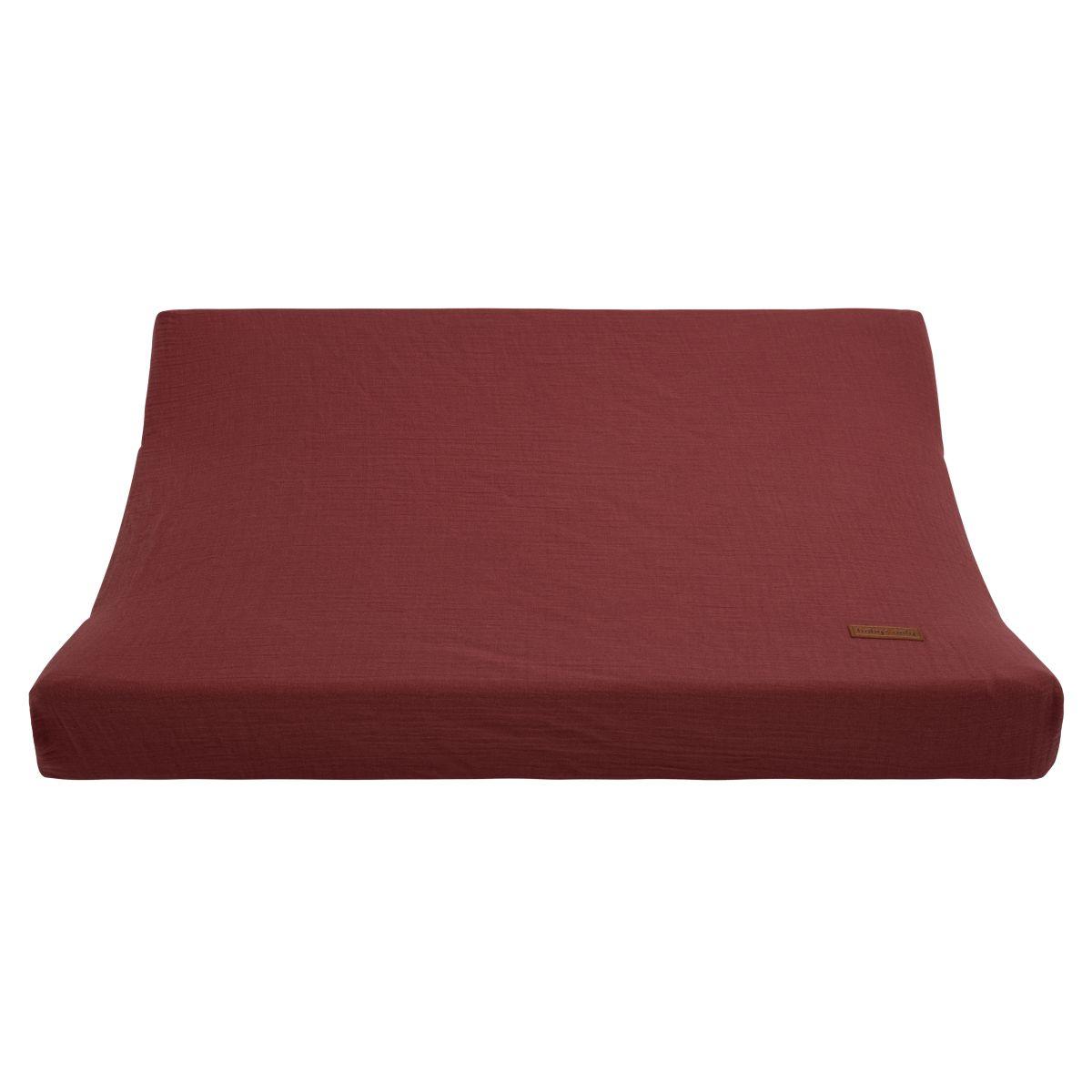 aankleedkussenhoes breeze stone red 45x70