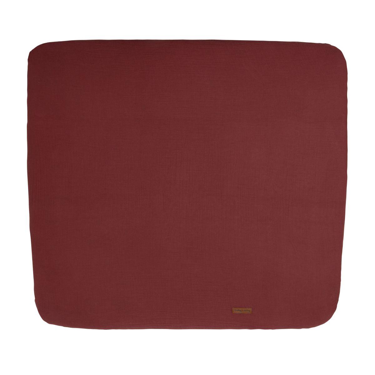 aankleedkussenhoes breeze stone red 75x85