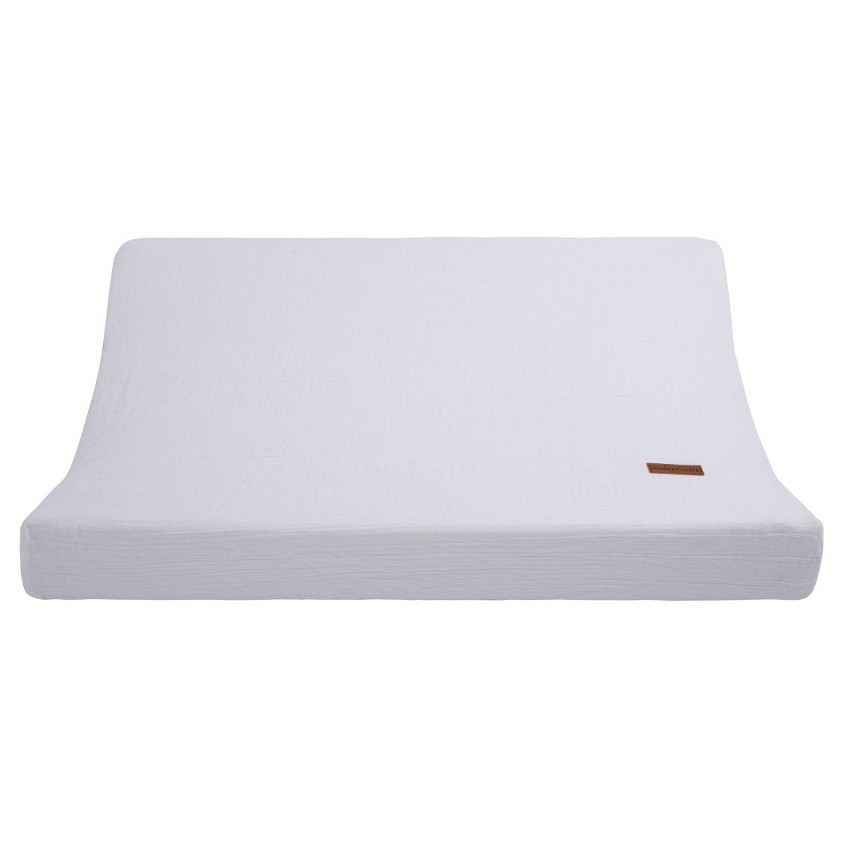 aankleedkussenhoes breeze wit 45x70