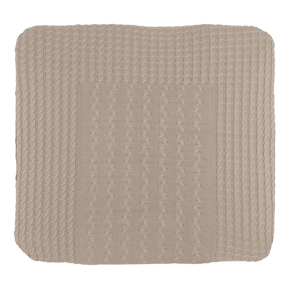 babys only 0137012 duits aankleedkussenhoes cable beige