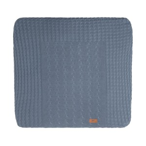 Aankleedkussenhoes Cable granit - 75x85