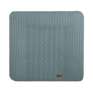 Aankleedkussenhoes Cable stonegreen - 75x85