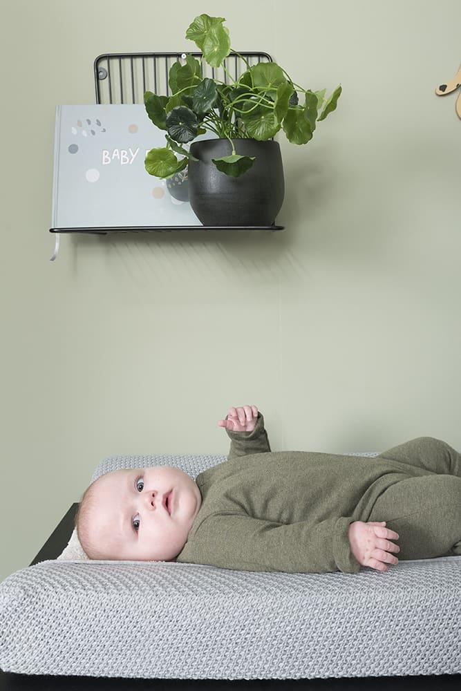 aankleedkussenhoes flavor stonegreen 45x70