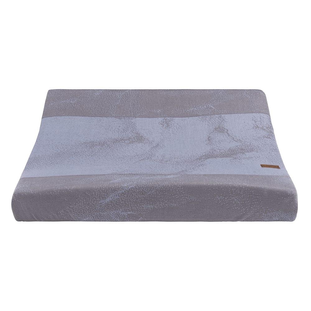 babys only 0212186 aankleedkussenhoes marble coolgrey lila 1