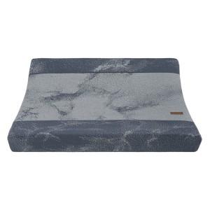 Aankleedkussenhoes Marble granit/grijs - 45x70