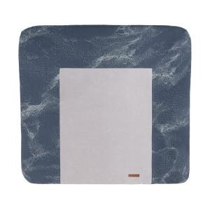 Aankleedkussenhoes Marble granit/grijs - 75x85