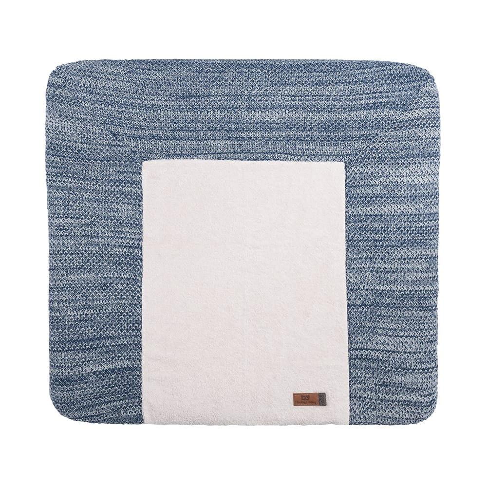babys only 0307068 aankleedkussenhoes river jeans grijs melee