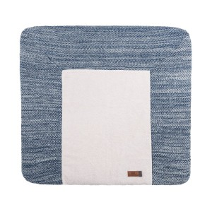 Aankleedkussenhoes River jeans/grijs mêlee - 75x85