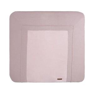Aankleedkussenhoes Sparkle zilver-roze mêlee - 75x85