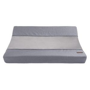 Aankleedkussenhoes Sparkle zilvergrijs mêlee - 45x70