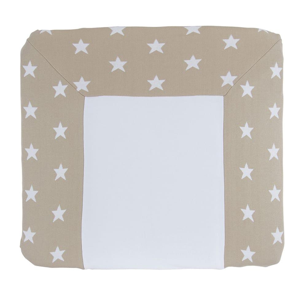 babys only 0917099 duitse aankleedkussenhoes star beige wit