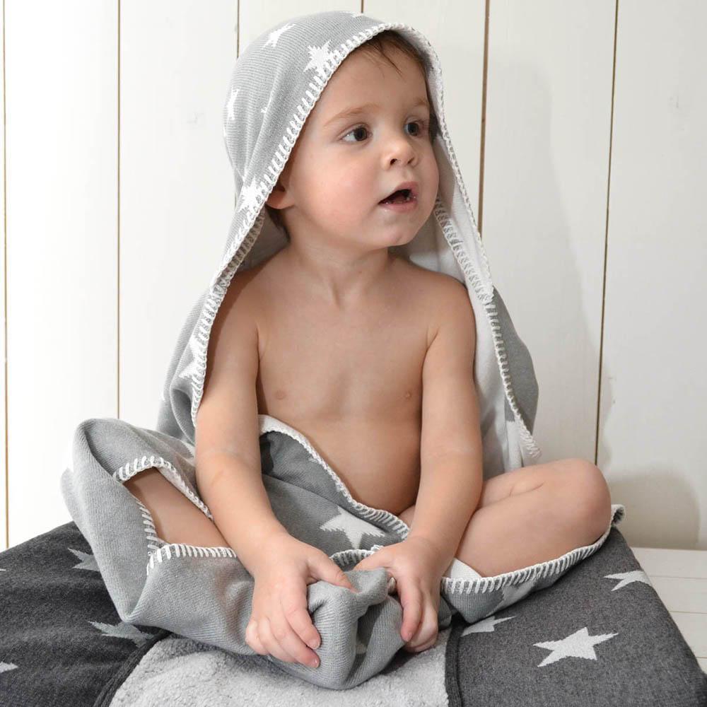 aankleedkussenhoes star fuchsiawit 45x70