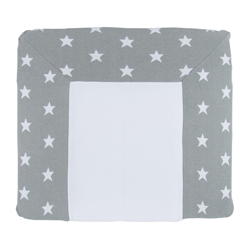 babys only 0917095 duitse aankleedkussenhoes star grijs wit