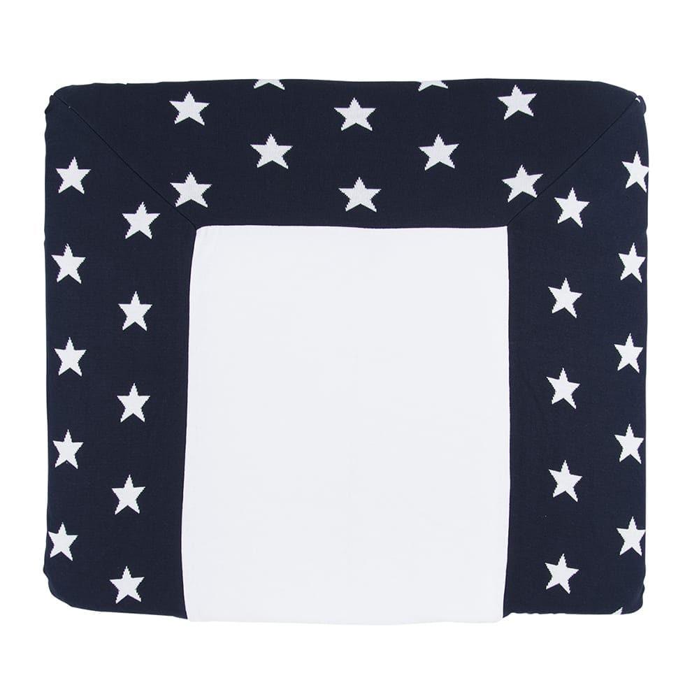 babys only 0917097 duitse aankleedkussenhoes star marine wit