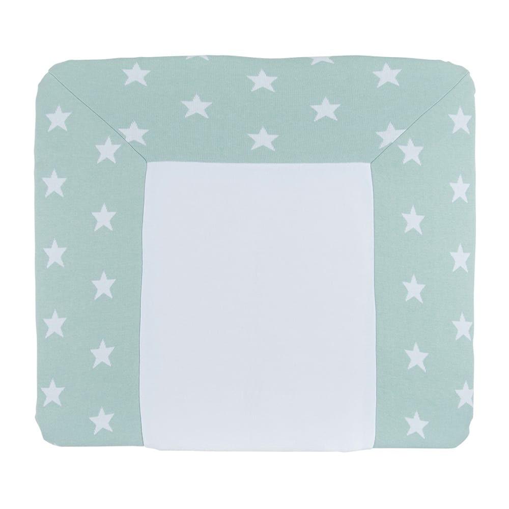 babys only 0917092 duitse aankleedkussenhoes star mint wit