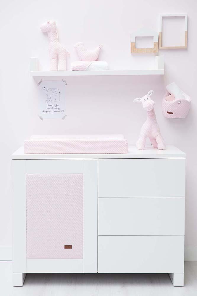 aankleedkussenhoes sun classic rozebaby roze 45x70