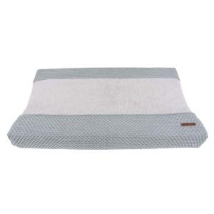 Aankleedkussenhoes Sun grijs/zilvergrijs - 45x70