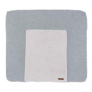 Aankleedkussenhoes Sun grijs/zilvergrijs - 75x85