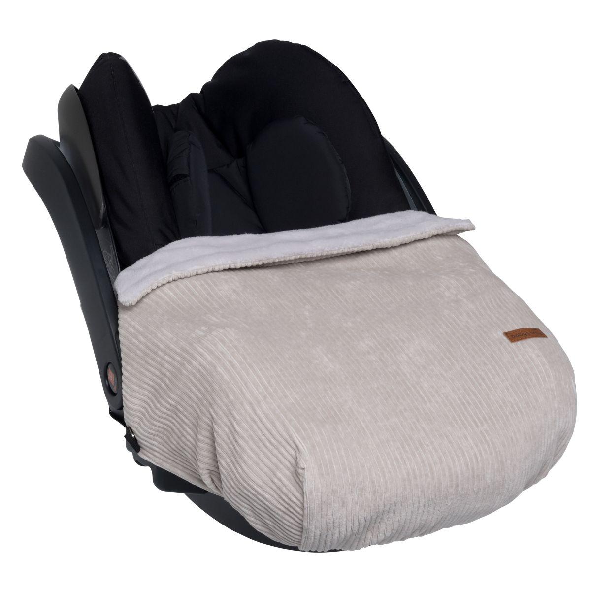 babys only bo024087023 sense autostoeldekentje kiezelgrijs 1