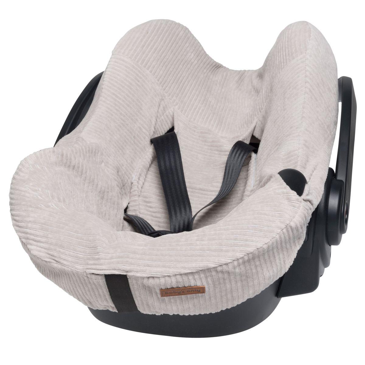 babys only bo024055023 sense autostoel hoes kiezelgrijs 1
