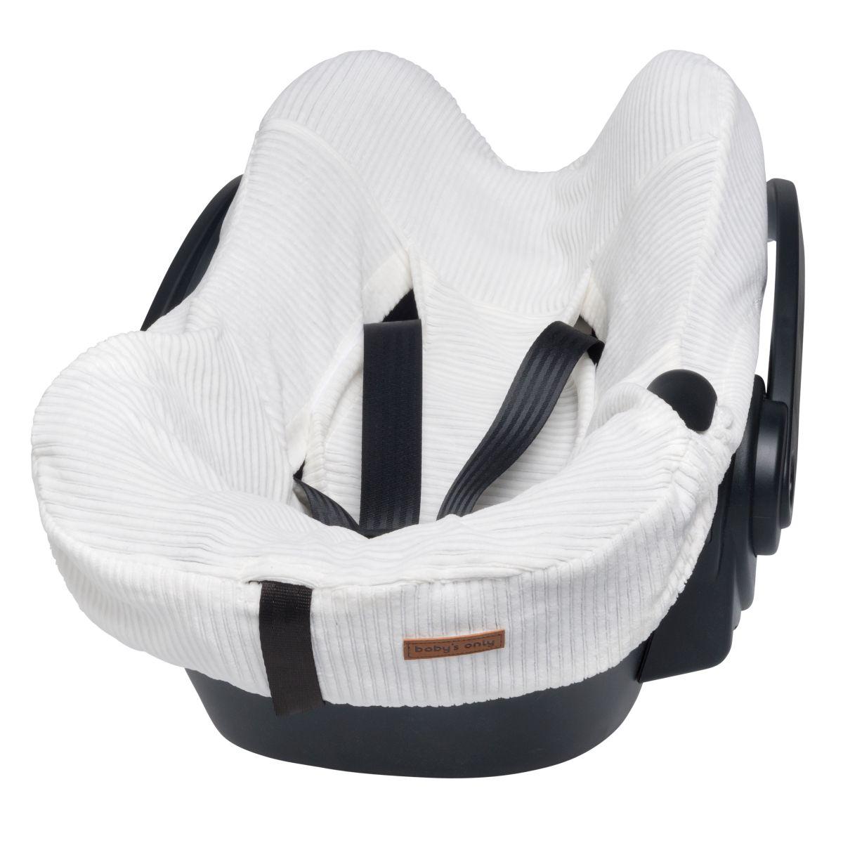 babys only bo024055019 sense autostoel hoes wit 1