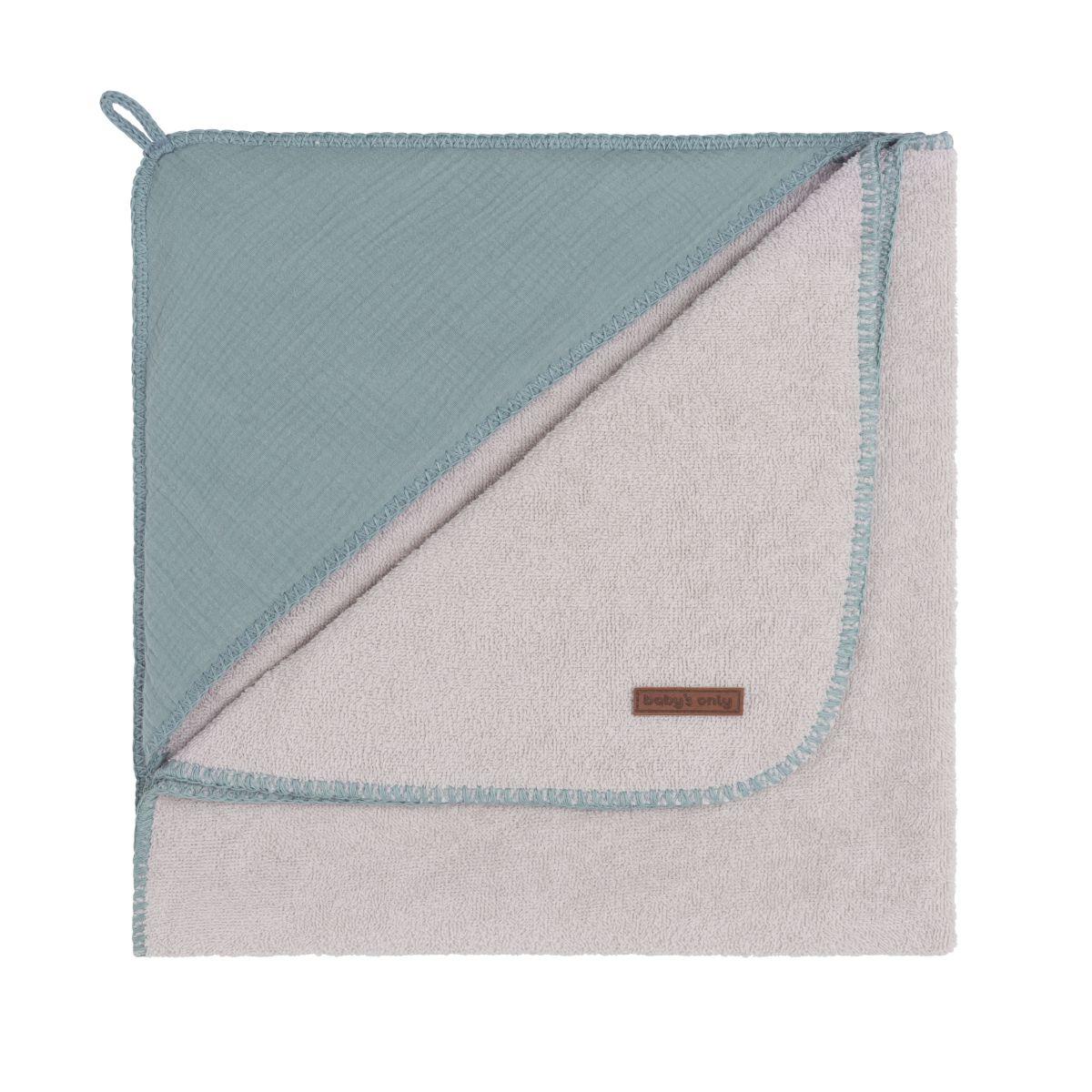 babys only 0237410 badcape 75x85 breeze stonegreen 1
