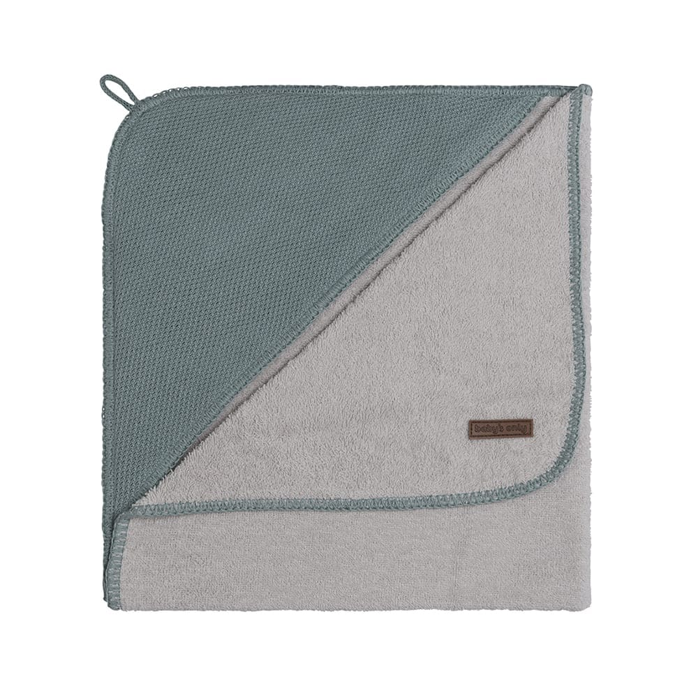 babys only 0207410 badcape 75x85 cm classic stonegreen