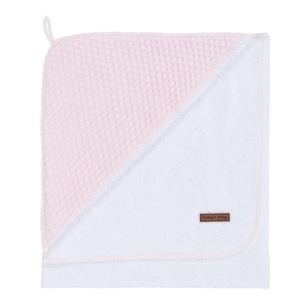 babys only 0257481 badcape 75x85 cm sun classic roze baby roze