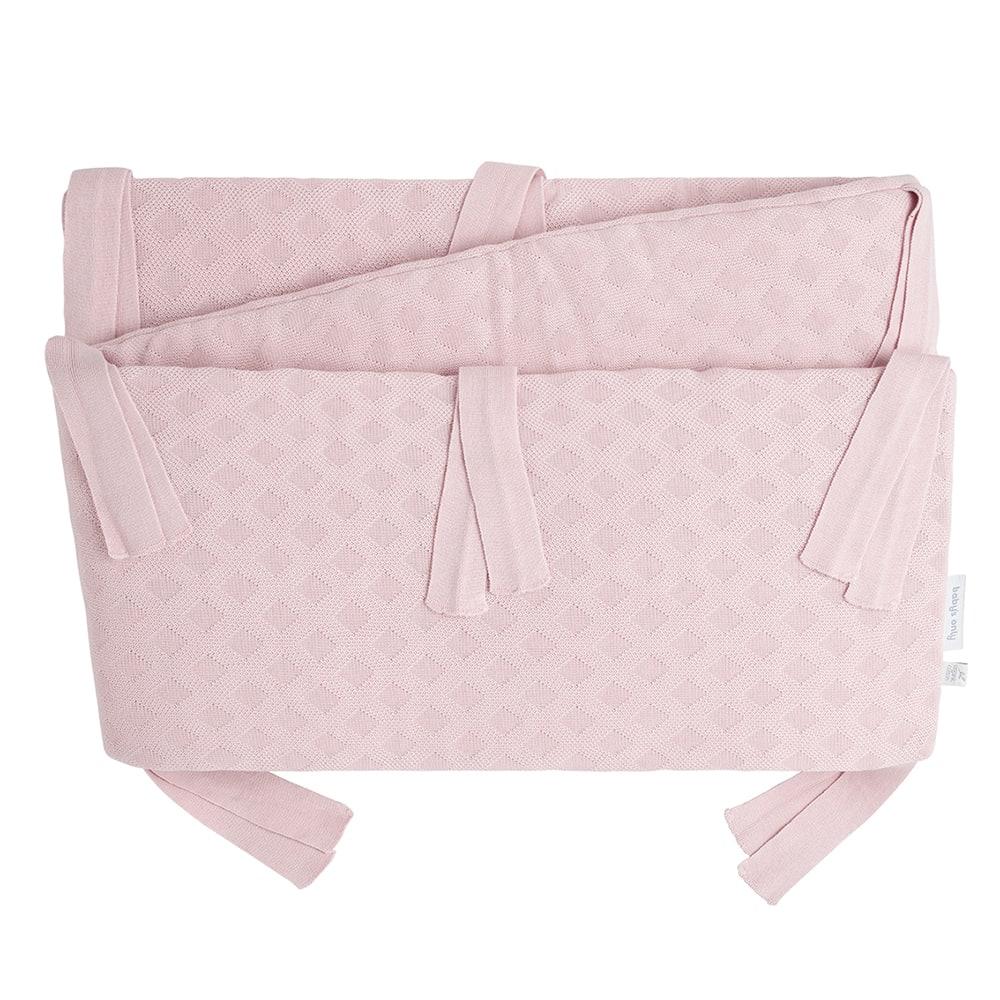 bedboxbumper reef misty pink