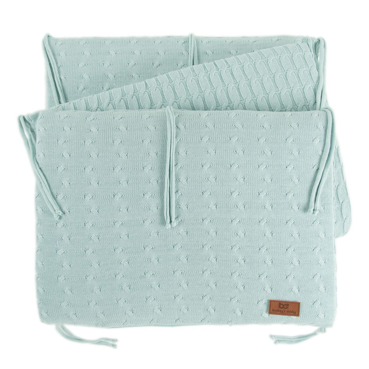 babys only 0134209 bedbumper cable mint