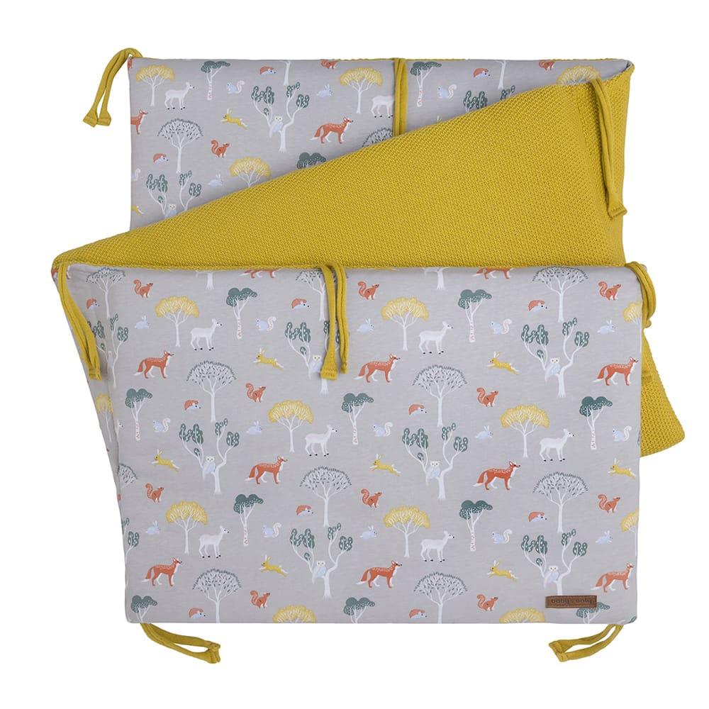 babys only 0264208 bedbumper forest mustard 1