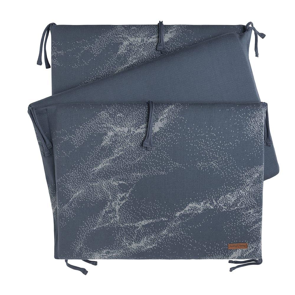 babys only 0214287 bedbumper marble granit grijs 1