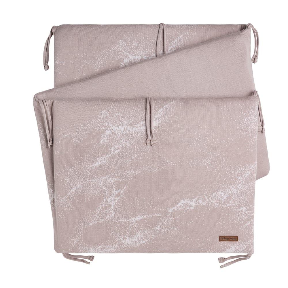 babys only 0214284 bedbumper marble oud roze classic roze 1