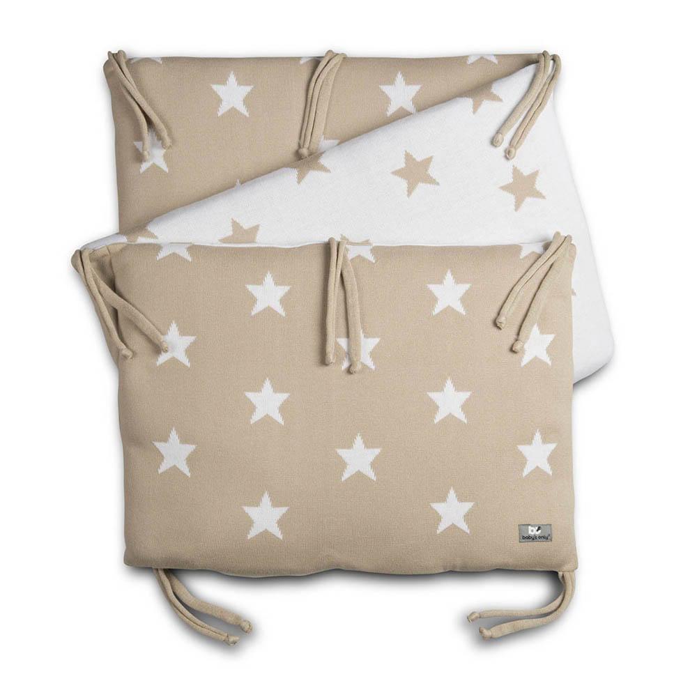 babys only 0914299 bedbumper star beige wit