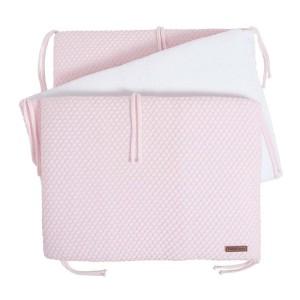 Bedbumper Sun classic roze/baby roze