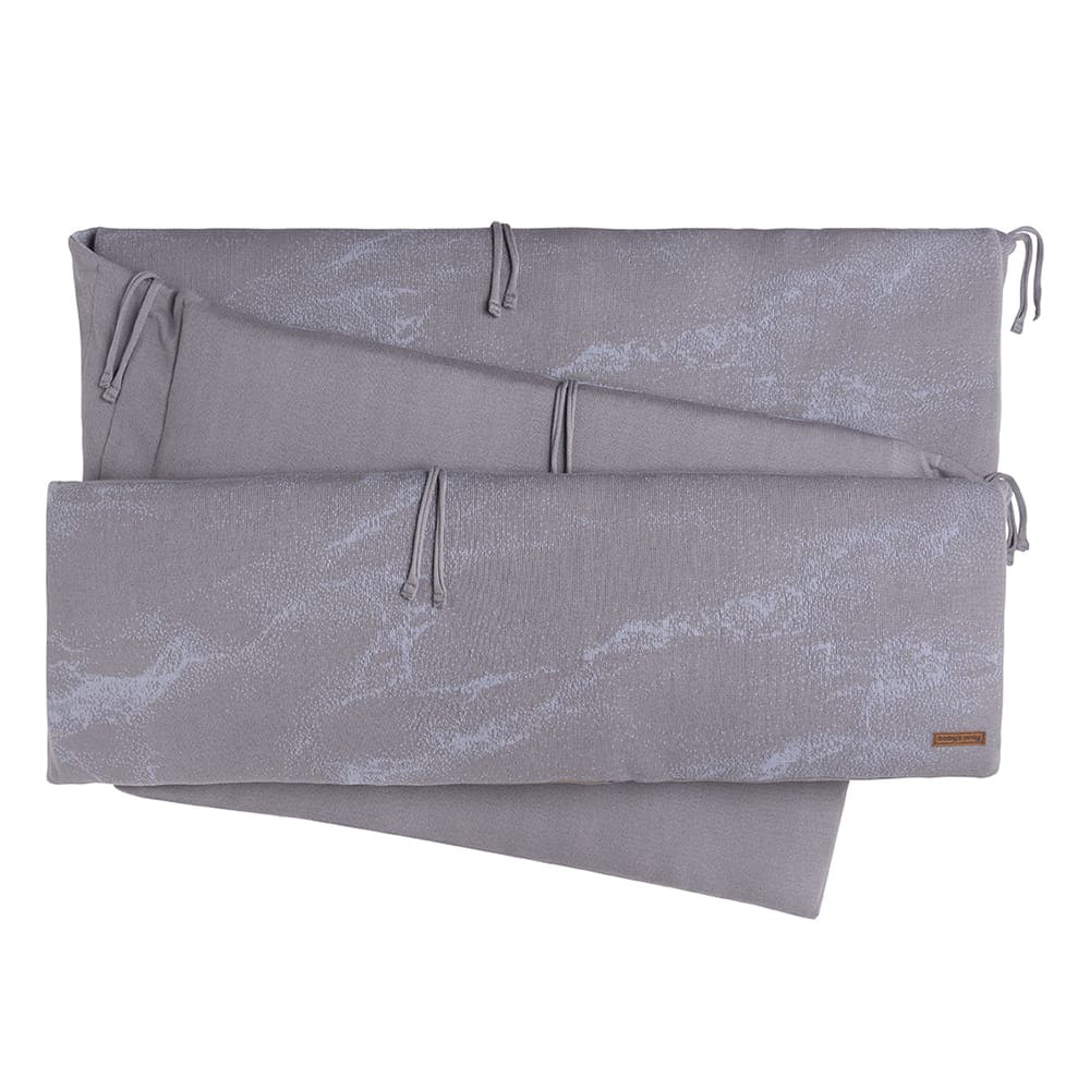 babys only 0210886 boxbumper marble cool grey lila 1