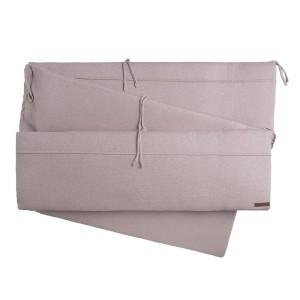 Boxbumper Sparkle zilver-roze mêlee