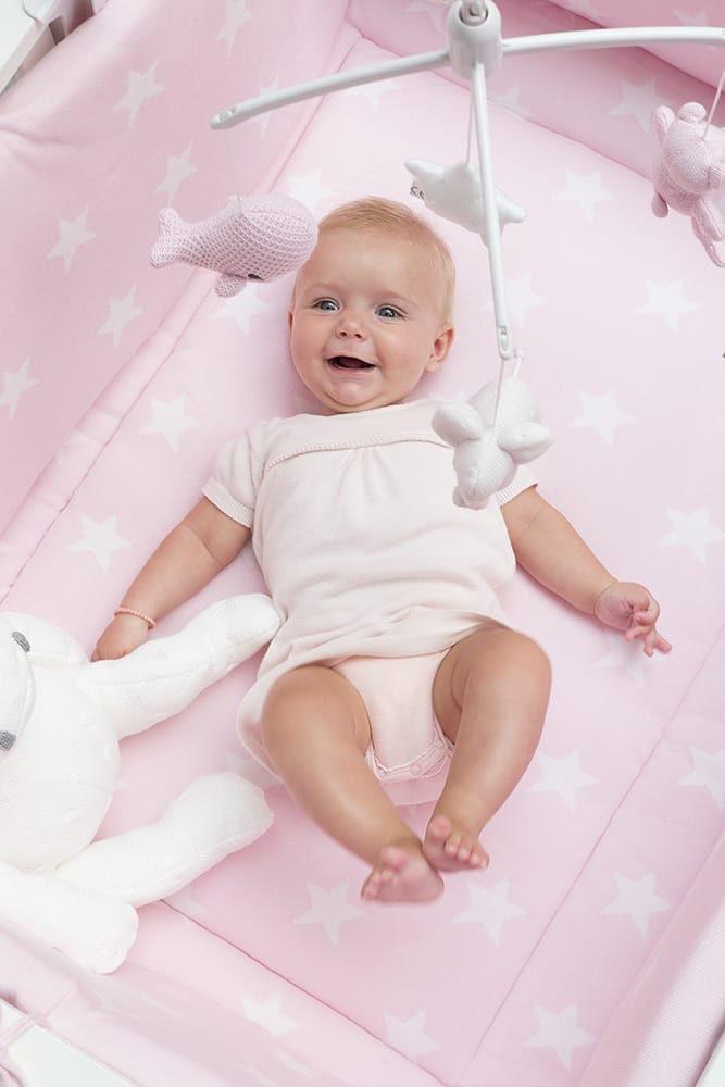 boxbumper star baby blauwgrijs