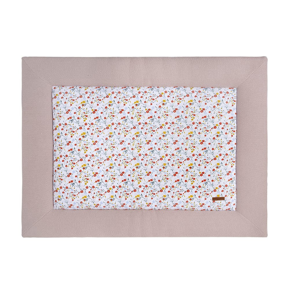 babys only 0281207 boxkleed 80x100 bloom oud roze 1