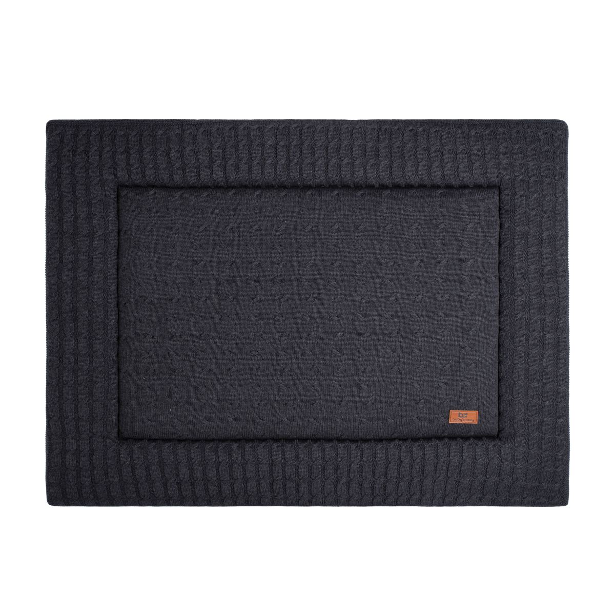 babys only 0130224 boxkleed 75x95 cm cable antraciet