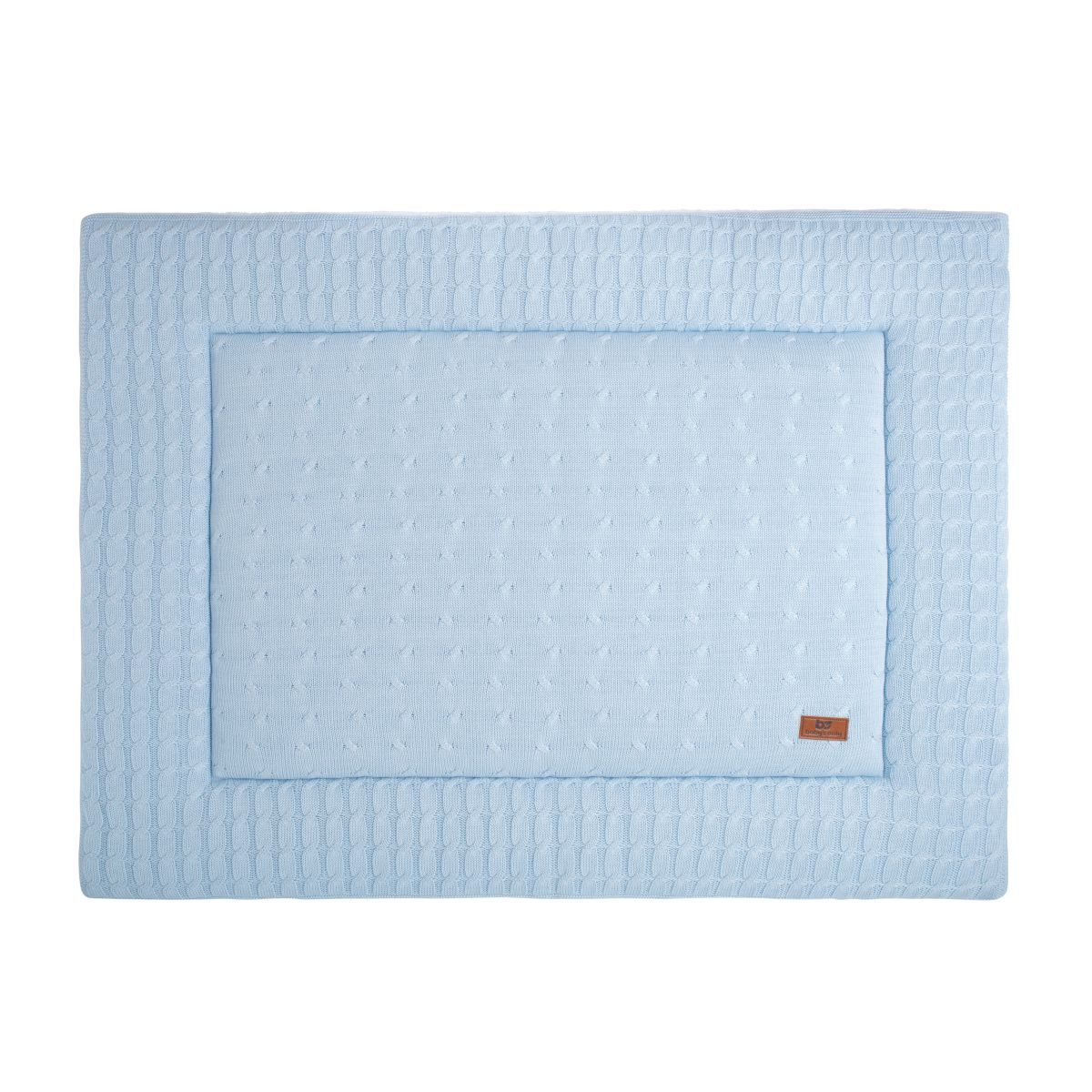 babys only 0131220 boxkleed 85x100 cm cable baby blauw