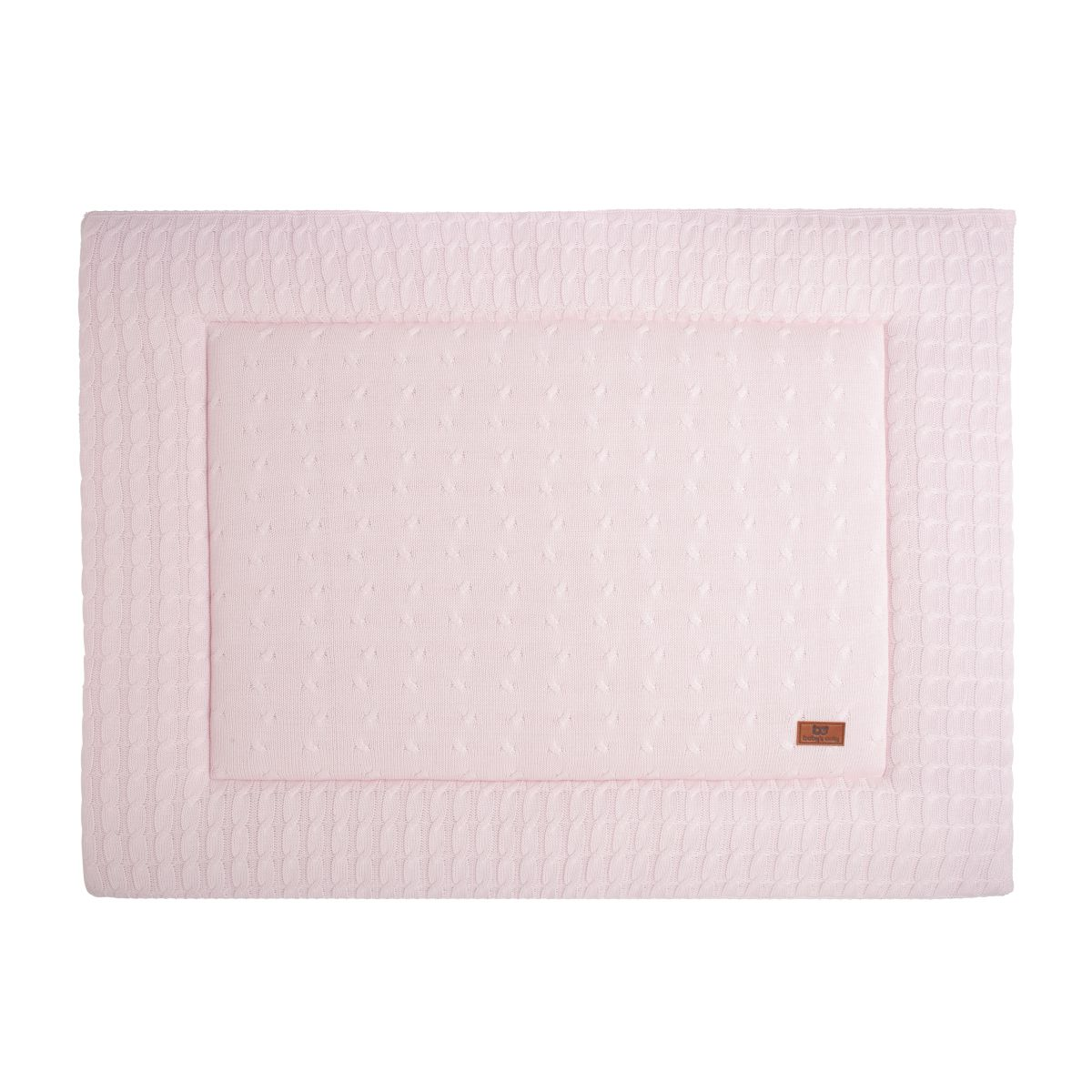 babys only 0130201 boxkleed 75x95 cm cable classic roze