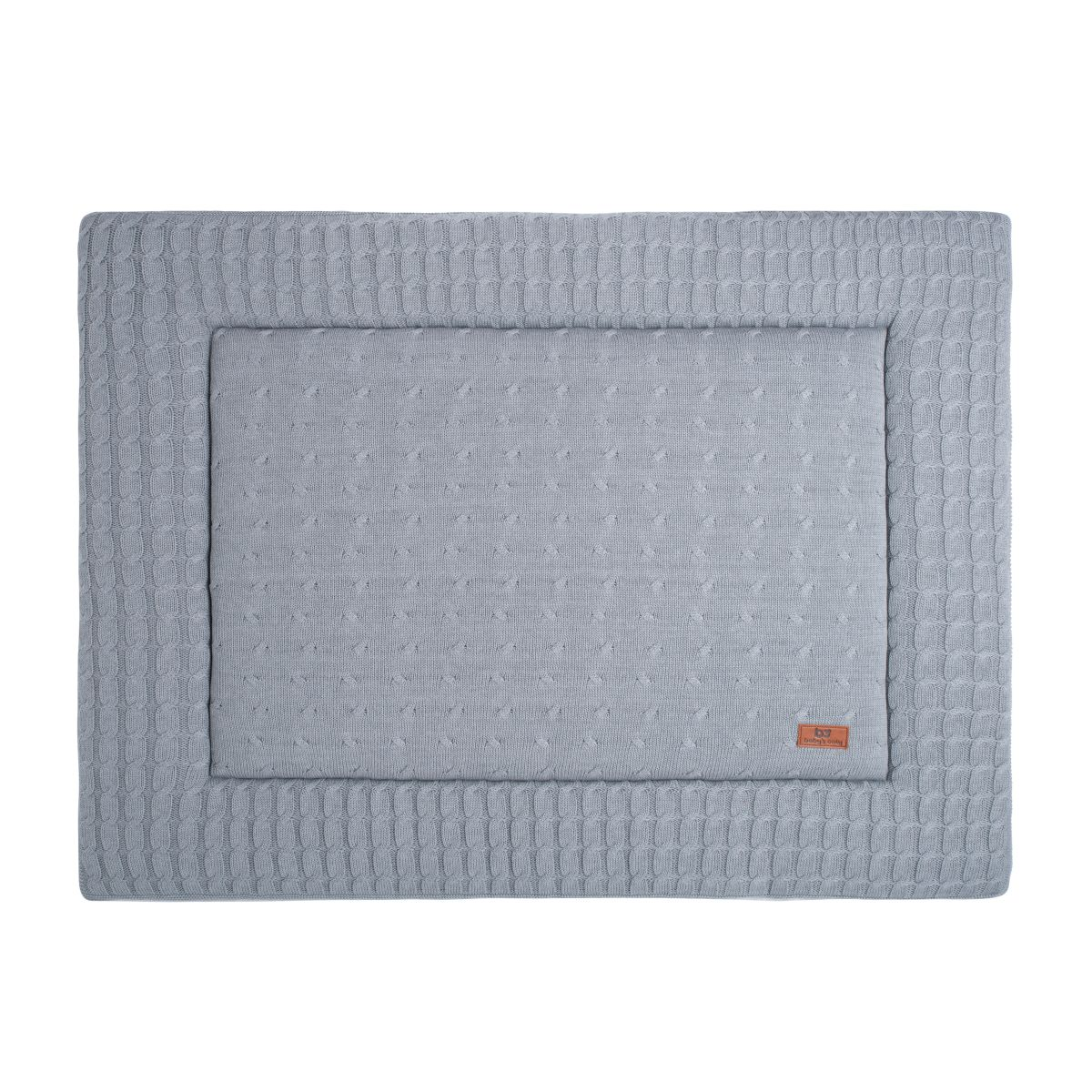 babys only 0131222 boxkleed 85x100 cm cable grijs