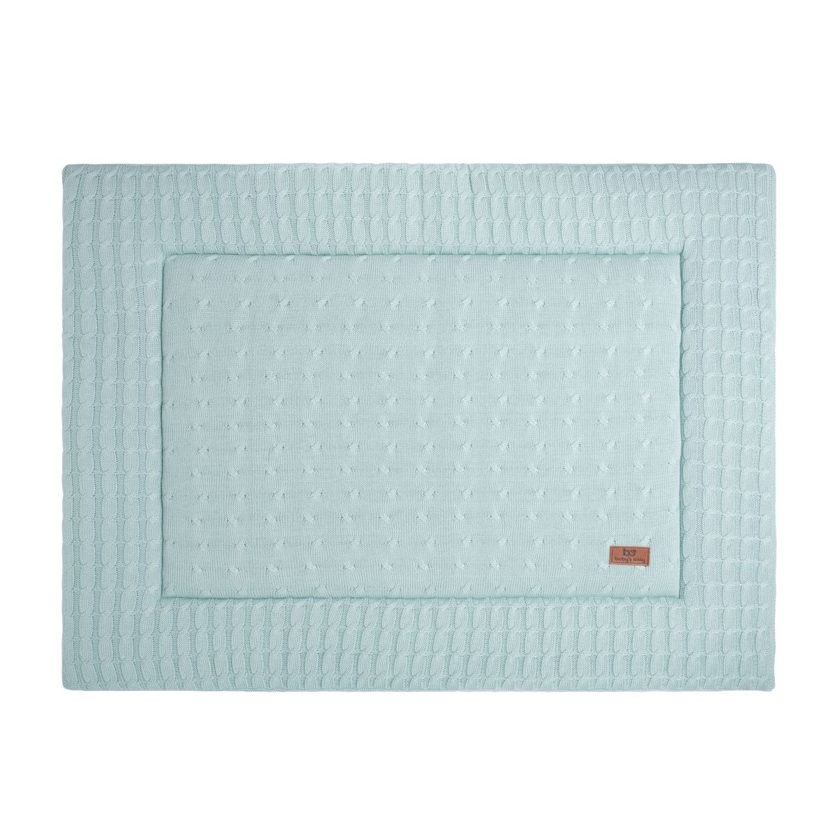 babys only 0131209 boxkleed 85x100 cm cable mint