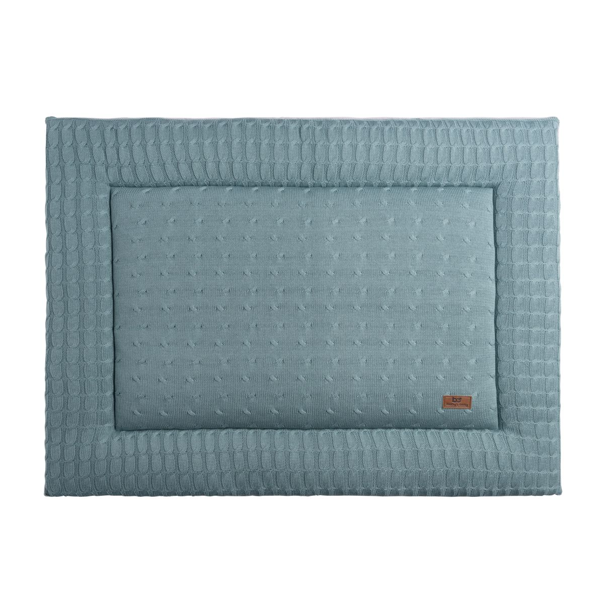 babys only 0130210 boxkleed 75x95 cm cable stonegreen 1