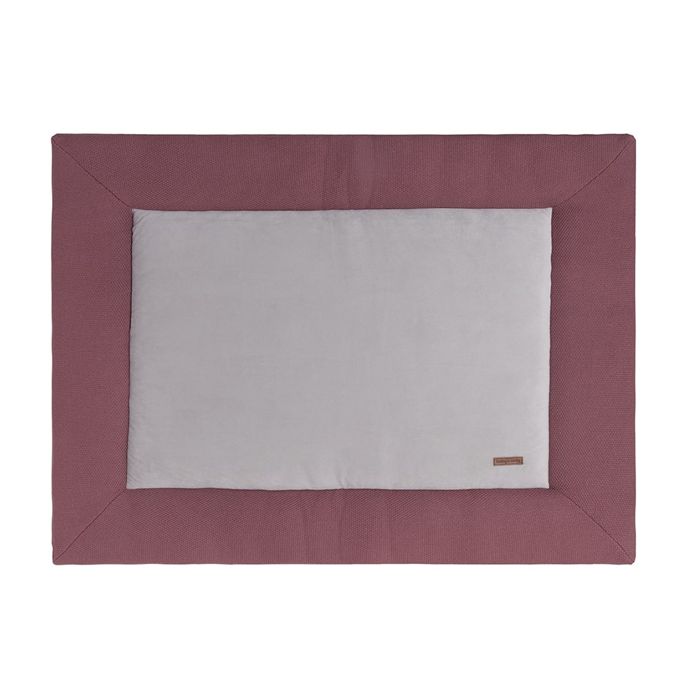 babys only bo020002040 classic boxkleed 80x100 stone red 1