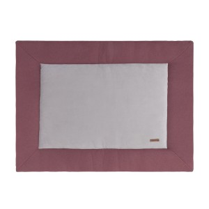 Boxkleed Classic stone red - 80x100
