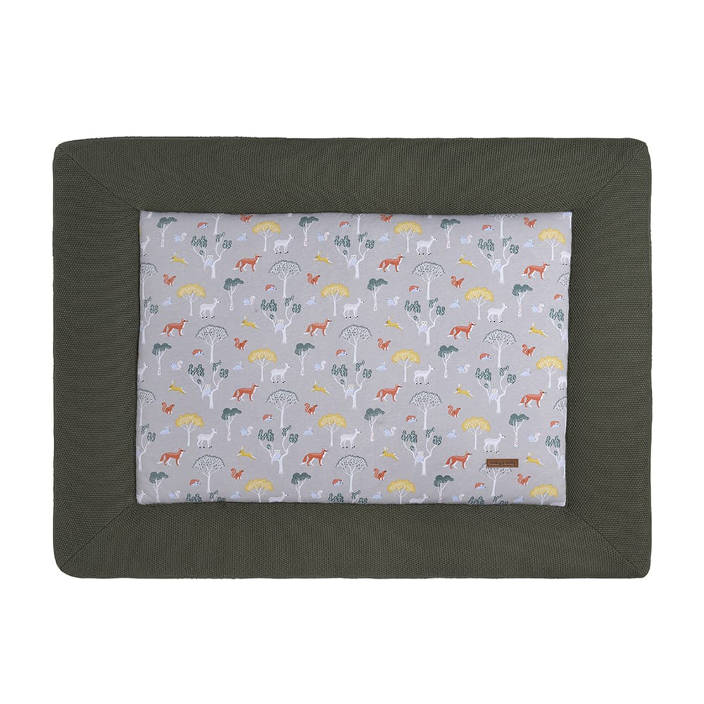 babys only 0261225 boxkleed 80x100 forest khaki 1