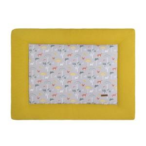 Boxkleed Forest mustard - 75x95