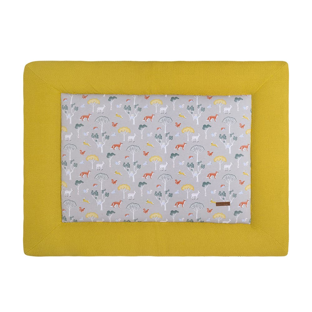 babys only 0261208 boxkleed 80x100 forest mustard 1